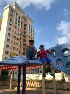 Rooftop playground of Punggol Grove